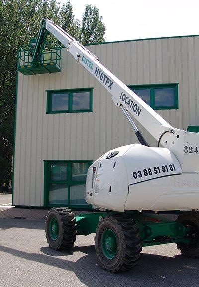 Nacelles télescopiques diesel : Bison 1600DTPX