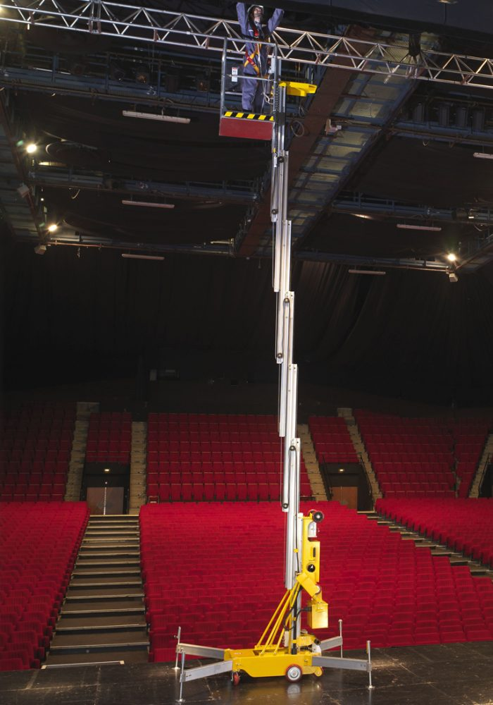 Nacelles à mât vertical électriques : Girafe 1070, 1200E