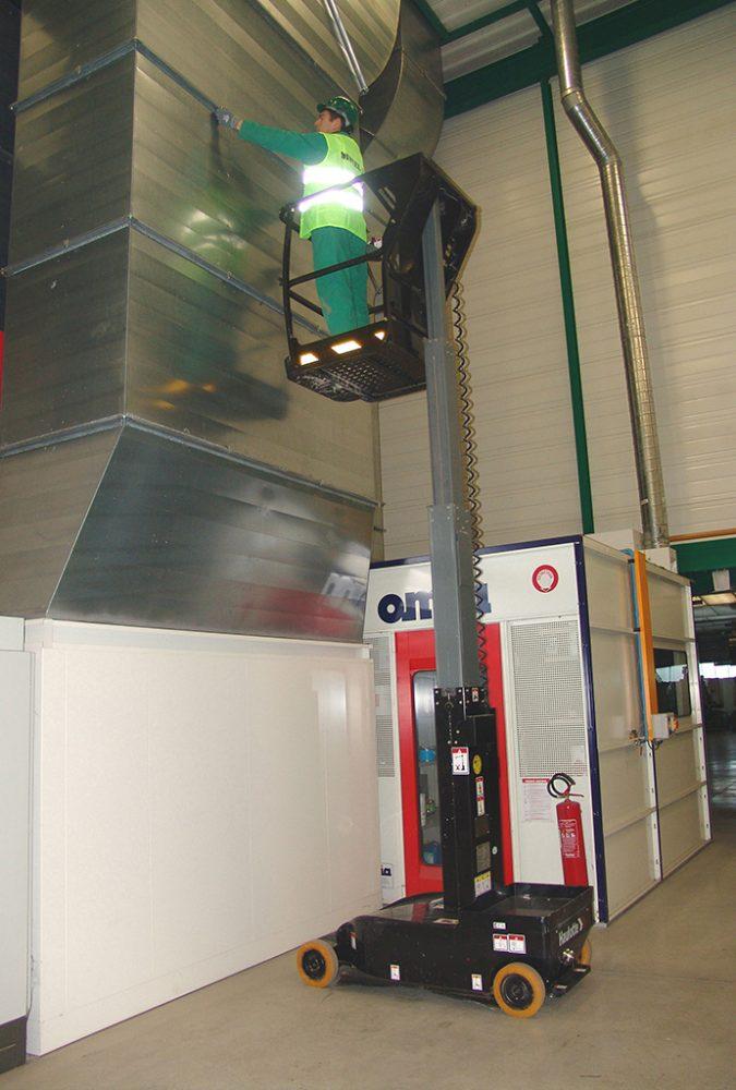 Nacelles à mât vertical électriques : Hibou 600E