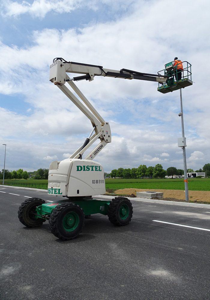 Nacelles articulées diesel : Mammouth 1600DX