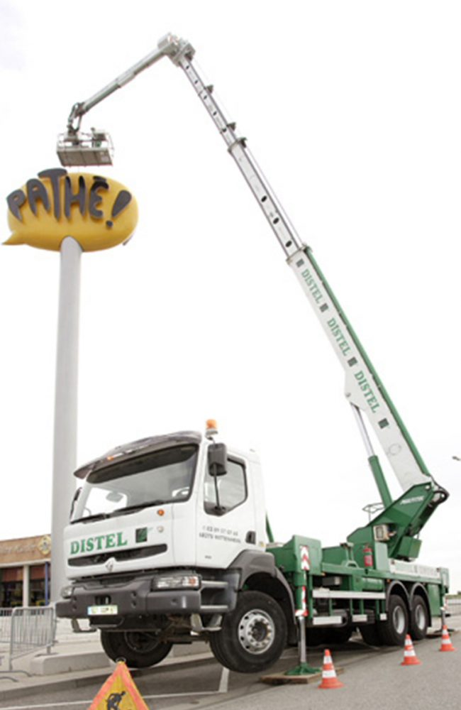 Camions nacelle articulées : PL40m00