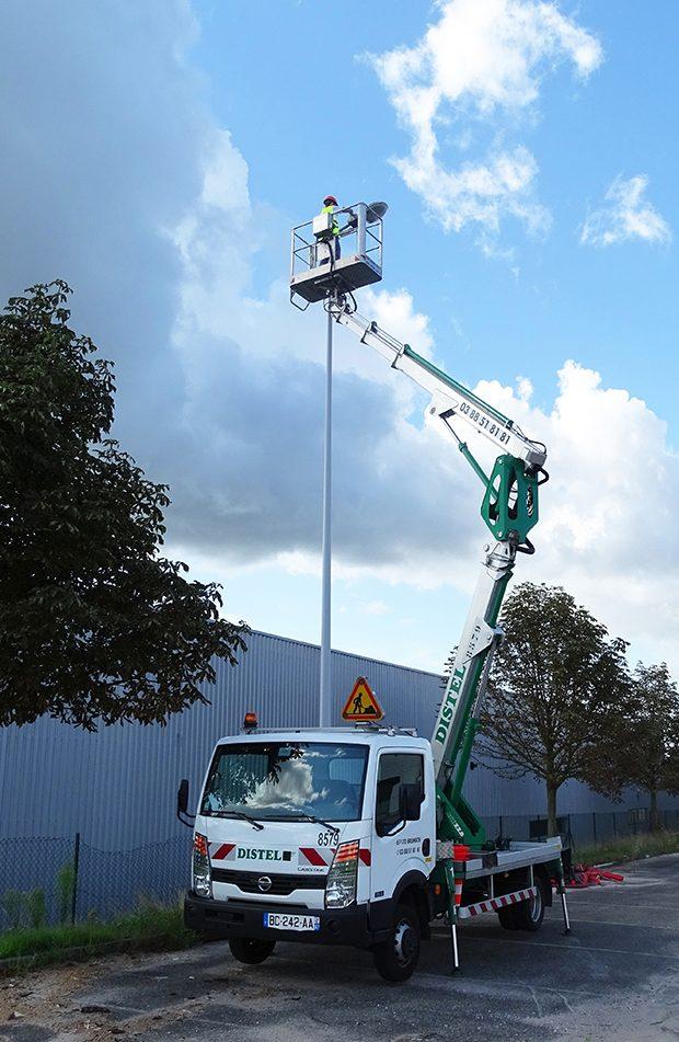 Camions nacelle articulées : VL22m50